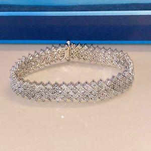 Jewelry - Diamond 2.00 CTW Sterling Silver Bracelet